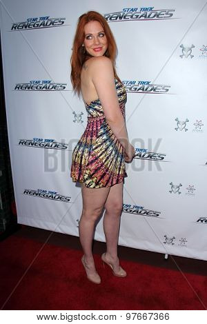LOS ANGELES - AUG 1:  Maitland Ward at the