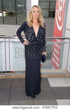 LOS ANGELES - AUG 1:  Christina Applegate at the The Dizzy Feet Foundation`s Celebration Of Dance Gala at the Club Nokia on August 1, 2015 in Los Angeles, CA