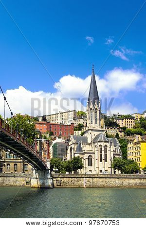 Church Of Saint Georges, Vieux Lyon, Lyon, France