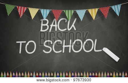 Education, Back To School Concept, Blackboard