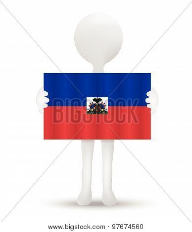 Flag Of Republic Of Haiti