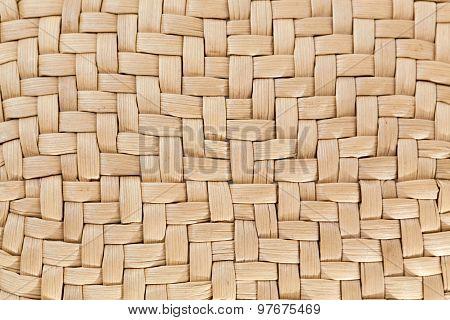 Part Of A Wattled Basket