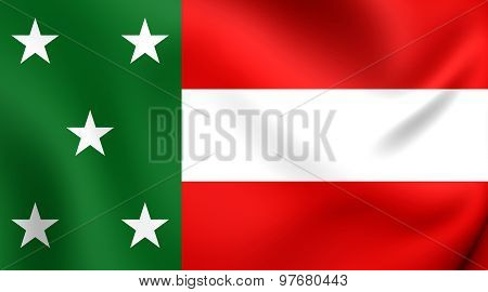 Republic Of Yucatan Flag (1841-1848)