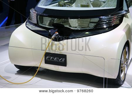 Toyota Ft-ev Ii Concept At Paris Motor Show