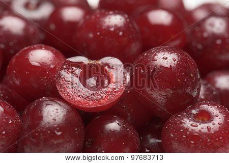 Sour Cherry Fruits