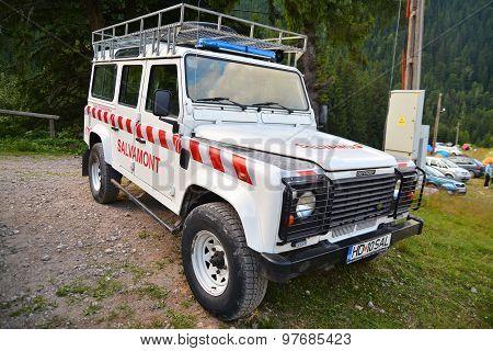 Mountain Rescue Vehicle