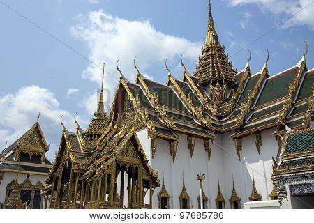 Wat Phra Kaew, Emerald Buddha Temple, Bangkok