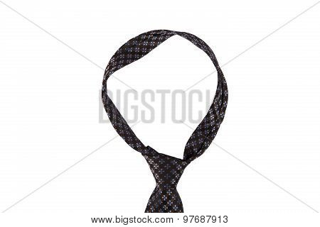 Tied Up Patterned Necktie