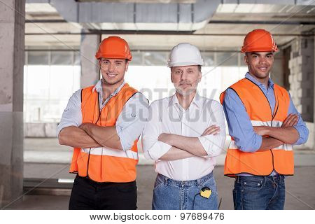 Successful builders are ready to work with their project