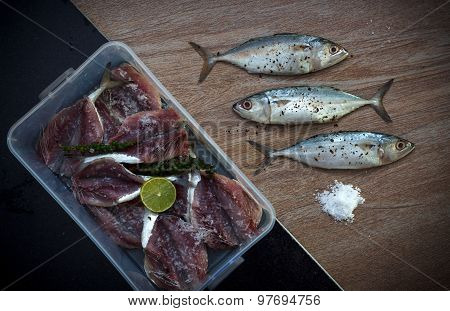 Fresh Tuna Ready For Cooking