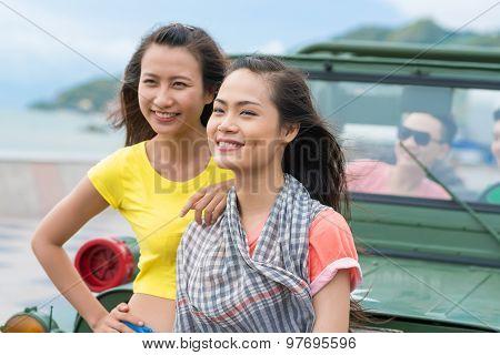 Happy Vietnamese Girls