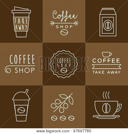 Coffee design set