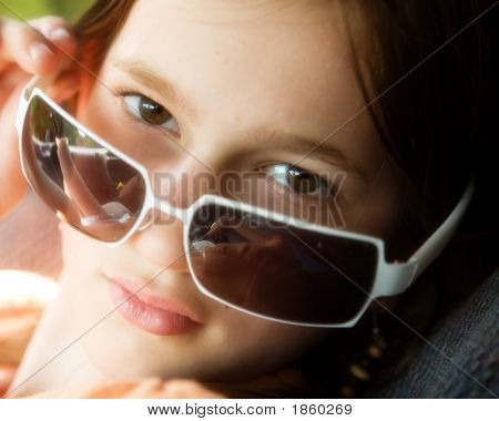 Peeking Over The Shades