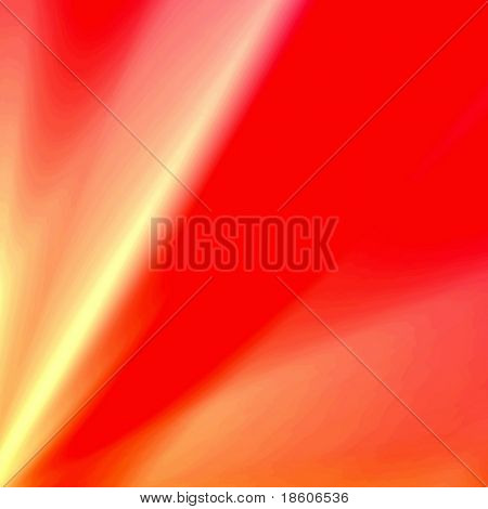 Red fantasy rays