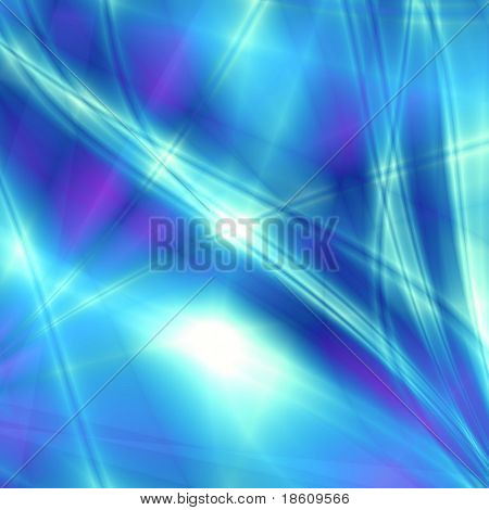 Blue soft fantasy background