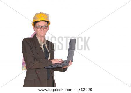Female Construction Supervisor