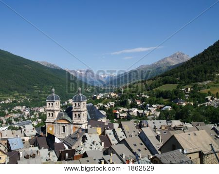 Briancon In The Franch Alps