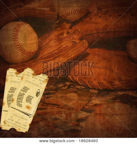 2009 Opening Season Baseball Background