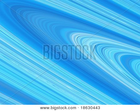 Fractal image of the rings of a planet such as Saturn.