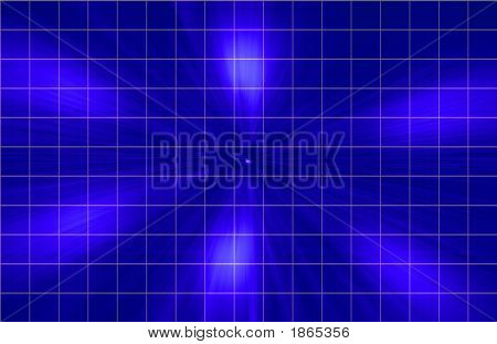 Blue Grid Technical Background