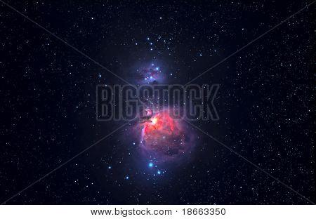 große Orionnebel