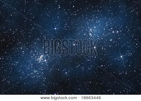 open cluster in Perseus