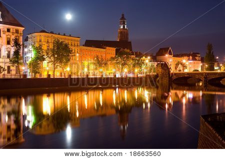 Wroclaw at night