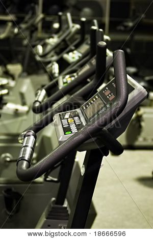 Fitness centre, health bikes, studio