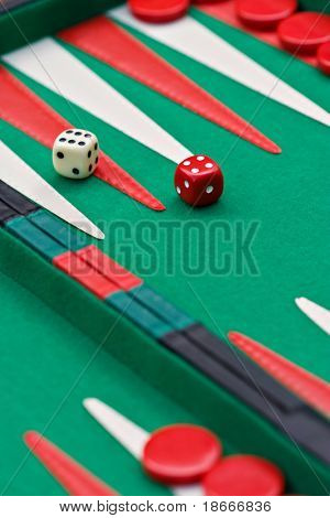 Backgammon, Sugoroku, Nard, Tabula , game is originated in ancient Persia is very popular between gamblers in Europe through Asia,