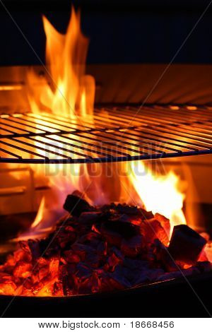 Barbecue Grill flame BBQ