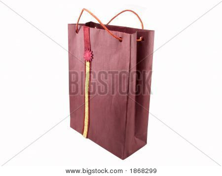 Crimson Shopping Bag