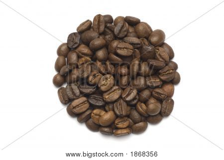 Coffee Beans Circuit Shape
