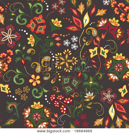 Eastern Patterns Seamless 5