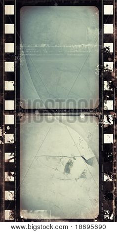 Computer designed highly detailed film frame with space for your text or image. Nice grunge layer for your projects.