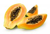 stock photo of pawpaw  - papaya - JPG