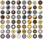 button poster