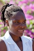 image of cornrow  - Young african woman - JPG