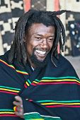 picture of rastafari  - rasta man with dreadlocks - JPG