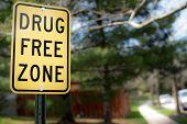 drug free poster