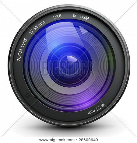 Cámara de foto, vector.