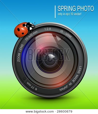 Abstract background spring, summer concept, vector.
