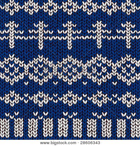 vector jumper winter pattern