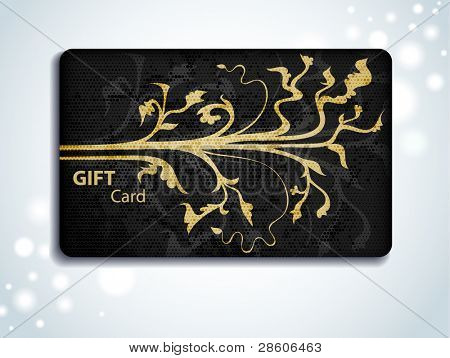 ornamental gift card