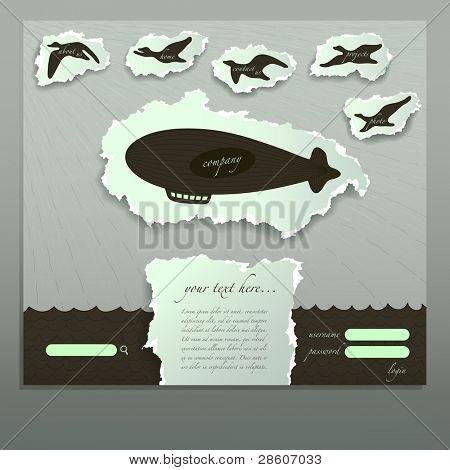 Design original do site