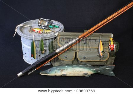 Fishing Gear and decoy