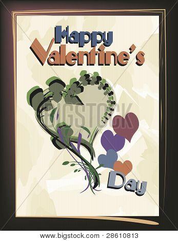 Vector Valentine Design: