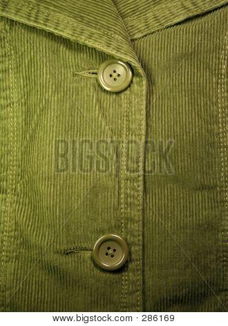 Green Corduroy Background,