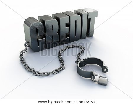 Credit and shackle