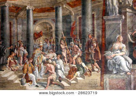 Art Of Italy In Vatican