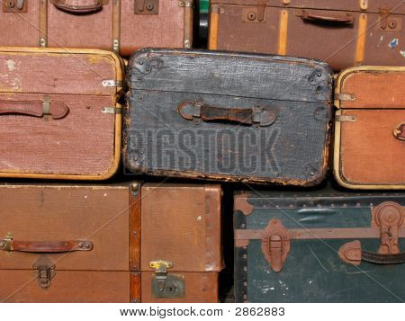 Suitcase Background